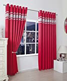 Best Home Fashion Blackout Curtains 100s - SELECT-ED® Luxuries Diamante Thermal 100% Blackout Curtains Ready Review