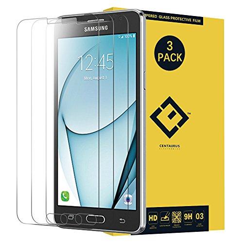 Galaxy ON5G550Glas Bildschirmschutzfolie, (3Packungen) blendfrei superdünn Transparent 9H Härte gehärtetes Glas Schutz Film für Samsung Galaxy ON5sm-g550g550fy G550T g550t1G5500s550tl