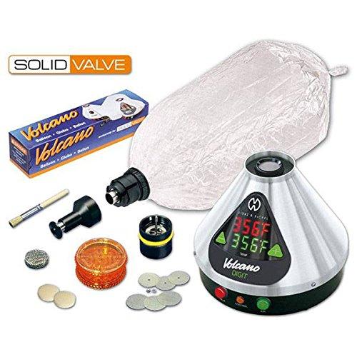 Volcano Digit - Vaporizzatore con Solid Valve Set