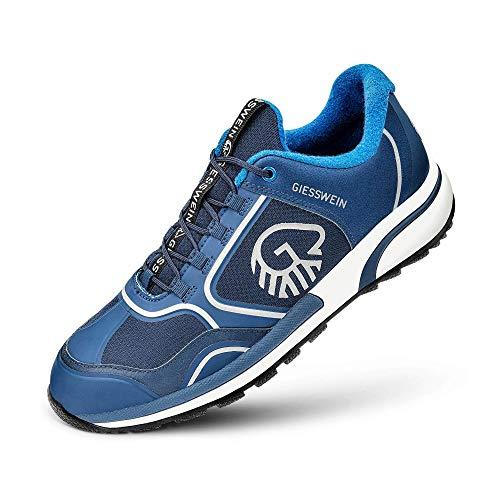 Giesswein Sportschuh Wool Cross X Women - Innovativer Sneaker für Damen, Performance Schuhe mit 100% Merino Wolle, Reflektierende Frauenschuhe, Micro-Grip Sohle -