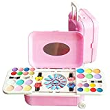 #4: SmartPick Girl's All-in-One Cosmetic and Real Makeup Palette with Mirror, Comes in Trolley for Kids ( Make up Kid and Nail Art KIT Set )