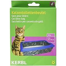 Kerbl Sac à Litière XL pour Chat 59x46 cm par 10
