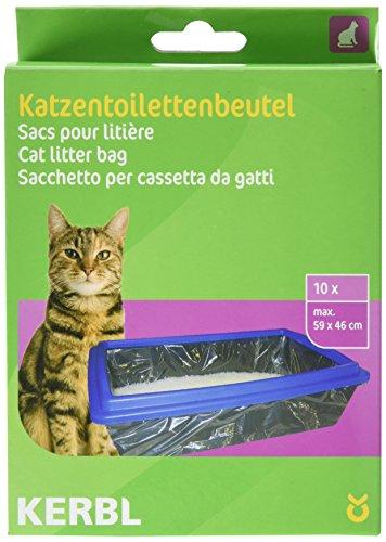 kerbl-sac-a-litiere-xl-pour-chat-59x46-cm-par-10