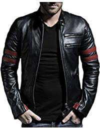 Leather Retail Wolverine Faux Leather Jacket