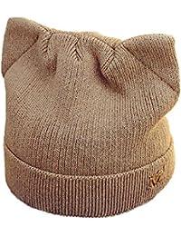 Amazon.it  maglia gatto - Marrone   Cappelli e cappellini ... 192758f60711