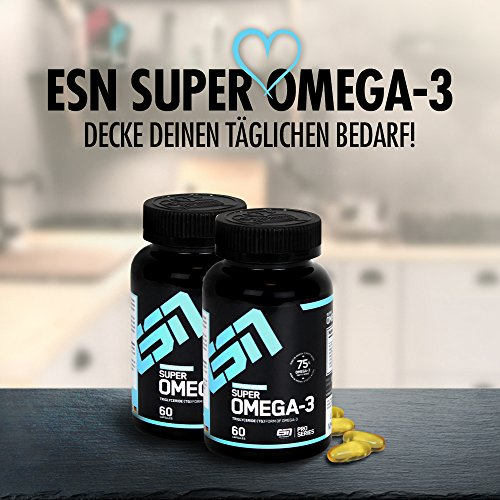 ESN Super Omega-3, 60 Kaps. - 4