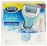Scholl Velvet Smooth Wet&Dry Wiederaufladbarer Hornhautentferner - Seidig Weiche Füsse Im Handumdrehen