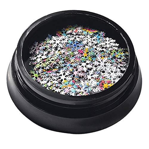 Homyl Boîte de Nail Cristaux Nail Art Strass Charms pour Décoration des Ongles Artisanat Maquillage des Yeux Vêtements Chaussures