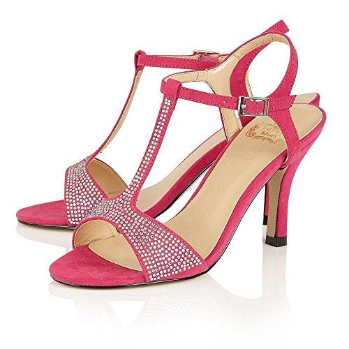 Lotus Hallmark snadals Absatz, Party & Anlass Fenella Pink Rose
