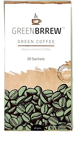 Greenbrrew Natural Green Coffee For Weight Management- 20 Sachets (Easy...