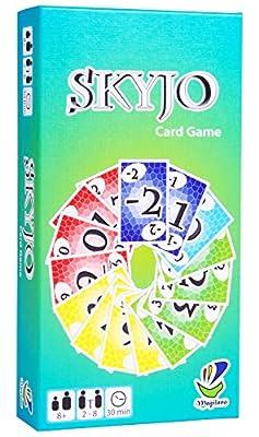 SKYJO, de Magilano - Le tout nouveau jeu de cartes pour les petits et les grands. Un jeu de société idéal pour se divertir et passer des soirées amusantes avec des amis et en famille.