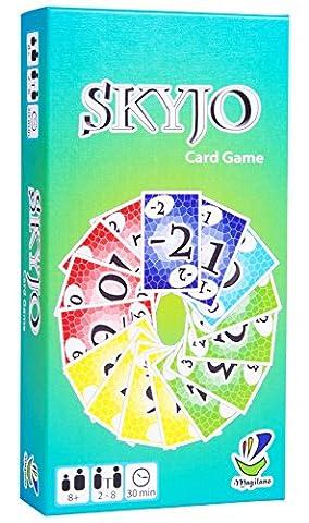 SKYJO, von Magilano - Das unterhaltsame Kartenspiel für Jung und Alt. Das ideale Gesellschaftsspiel für spaßige und amüsante Spieleabende im Freundes- und