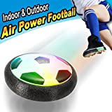 Twister.CK Kids Football, Air Power Soccer Soccer Kids Ball con Luces LED, Entrenamiento de fútbol en Interiores, Juguetes Deportivos, niños