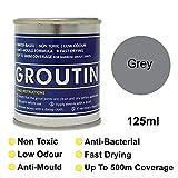 Gris groutin lechada Reviver, restaurar y Revive Old lechada. antihongos y antibacteriano 125ml