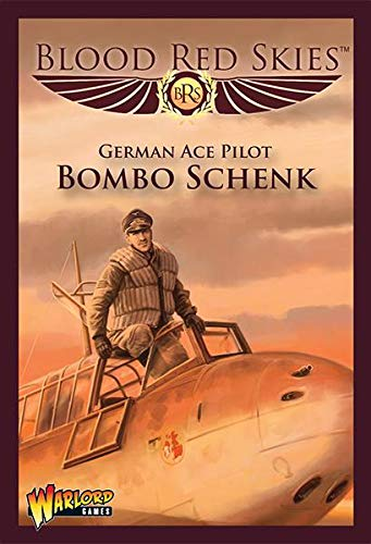 Blood Red Skies German Ace Pilot 'Bombo' Schenk 1:200 Bf 110 Ace: 'Bombo'  Schenk Bf 110 WWII Mass Air Combat War Game