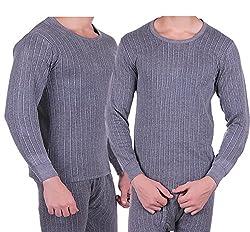 Zimfit Mens Winter Wear Full Sleeves Ultra Thermal (Upper) (85) 2PC