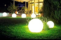 LED Kugel Garten Kugelleuchte Außen Kugellampe (20 cm)