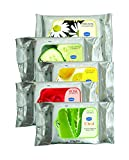 #4: GINNI CLEA Cleansing & Makeup Remover Wipes (Rose,Lemon,Aloevera,Cucumber,Antiacne) (pack of 5) (30 wipes per pack)