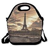 Dozili Soir Tour Eiffel Visite Bateau L et épais en néoprène Sac repas isotherme...