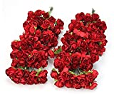 Sungpunet Künstliche Blumen, Schaumstoffrosen, 144 Stück