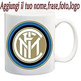 TAZZA MUG INTER FOOTBALL CLUB PERSONALIZZATA CON NOME,FRASE,FOTO ECC. IDEA REGALO