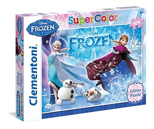 Clementoni - 29712 - Puzzle Super Color - 104 pièces - La Reine des neiges 2