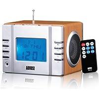 August MB300 – Radio FM MP3 y alarma despertador
