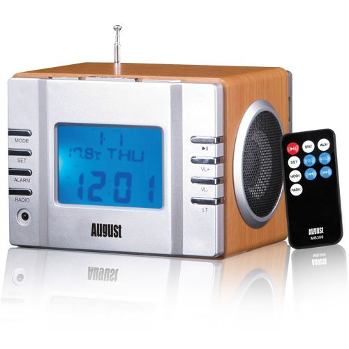 August MB300 - Radiowecker - MP3 Player / Stereoanlage - Uhrenradio