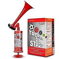 Idea Regalo - selezione100 Tromba da Stadio, trombetta da Stadio, trombette da Stadio manuali, trombe da Stadio Senza Gas, trombe da Stadio, Tromba Stadio Manuale trombetta Stadio, Utilizzabile Come Tromba Nautica