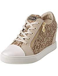Footwear Active Lady, Baskets Femme, Or (Gold Gold), 41 EUGuess