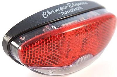 Fahrrad Bike LED Elysees hinten Dynamo Reflektor Licht für Gepäckträger