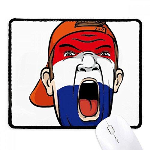 DIYthinker Niederlande Flagge Facial Makeup-Maske Schreien Cap Non-Slip Mousepad...