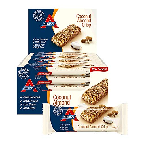 Atkins Advantage Low Carb Bar Coconut Almond Crisp 60g -