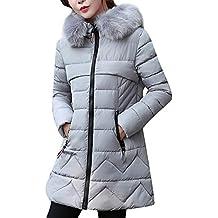 Donna Cappotto Parka Con Cappuccio Cappotti Giacca Spesso Caldo Invernali