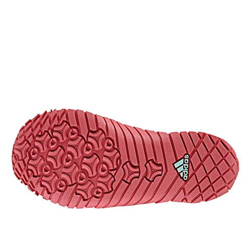 adidas  Kurobe K, Jungen Aquaschuhe turquoise/rose foncé/turquoise Verde (Versen/Rostac)