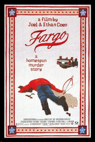 Fargo Filmposter William H. Macy Frances MCDORMAND Mord Story 61 x 36 (Reproduktion, kein Original)
