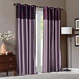 Deco Window Curtain Tripti Grape Wine Mi...