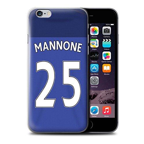 Offiziell Sunderland AFC Hülle / Case für Apple iPhone 6S / Pack 24pcs Muster / SAFC Trikot Home 15/16 Kollektion Mannone