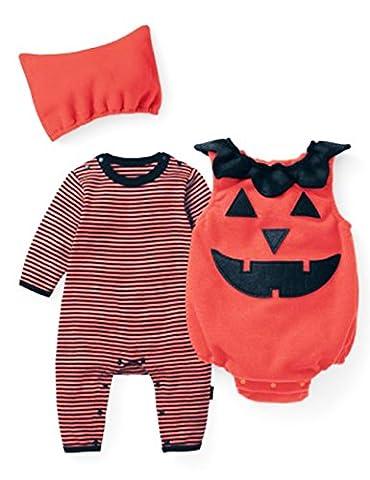 Little Hand® Unisexe bébé Jumpsuit animal Imprimé Costume Bodysuit + Chapeau Âge 6-24 mois
