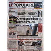POPULAIRE DU CENTRE (LE) [No 130] du 07/06/2006 - GOLF - ATTIRANT LIMOUSIN - BILLARD - LE LIMOUSIN JOUE BILLE EN TETE - VAL DE L'AURENCE - UN POLAR ECRIT PAR DES JEUNES - HAUTE-VIENNE - 11 ACCUSES 5 AFFAIRES DEVANT LES ASSISES - PROPOS D+¡UN JOUR - TERGIVERSATIONS - FOOTBALL - JEAN-JACQUES EYDELIE NOUVEL ENTRAINEUR DU LIMOGES FC - COUPE DU MONDE - DERNIERE REPETITION POUR LA FRANCE CE SOIR A SAINT-ETIENNE - SOCIAL - AVEC UN TAUX DE 75 % CONTRE 95 % AU PLAN NATIONAL - CHOMAGE - LE BON CHIFFRE LI