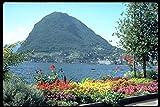 516062 Views Of Public Gardens Lugano Switzerland A4 Photo