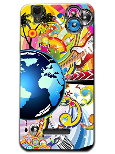 Kaira Brand High Quality Designer Soft silicon Back Case cover(Transparent) For Micromax Yu Yureka Mobile (Earth Speaker)