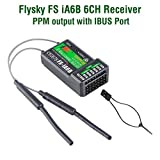 Flysky FS-iA6B RC Ricevitore 6CH PPM Output with iBus Port 2.4GHz RC Receiver for i6 i6S i10 i6x Radiocomando RC Trasmettitore for FPV Racing RC Drone Quadcopter