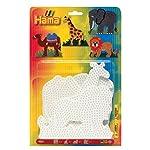 Enthält 1 Elefant, 1 Giraffe, 1 Löwe und 1 Kamel Steckplatten   ab 5 Jahre
