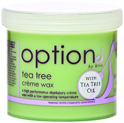 Hive Options Tea Tree Cream Wax with Natural Antiseptic Qualities 425g