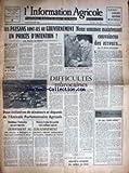 information agricole l no 196 les paysans font ils au gouvernement un proces d intention par ch du fretay fl nove josserand difficultes marocaines j mennevret
