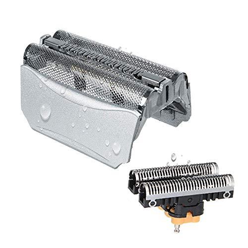 51S Cabezales de Afeitado para Braun Afeitadora Eléctrica Hombre, Poweka Series 5 Recambio de Lámina...