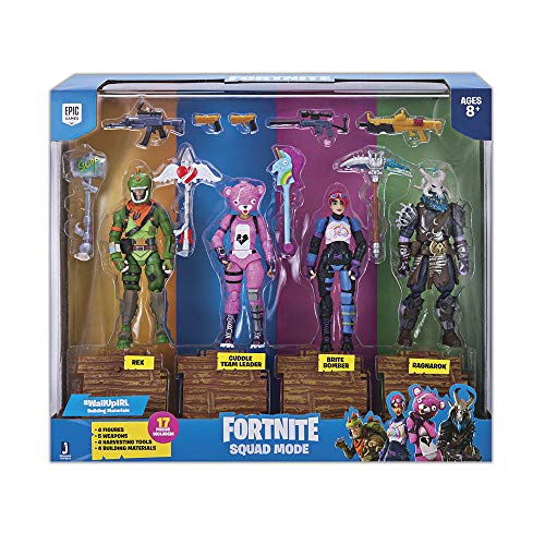 Fortnite Squad Mode 4-er Figuren-Pack - Figur