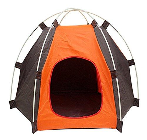 ZHXIN Pet Tende per Cani Gatti Borsa Impermeabile Lettino Extra Campeggio Oxford Cuscino Esterno Tunel Esercizio Extra Raffreddamento Auto