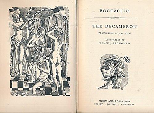 The Decameron. Angus edition